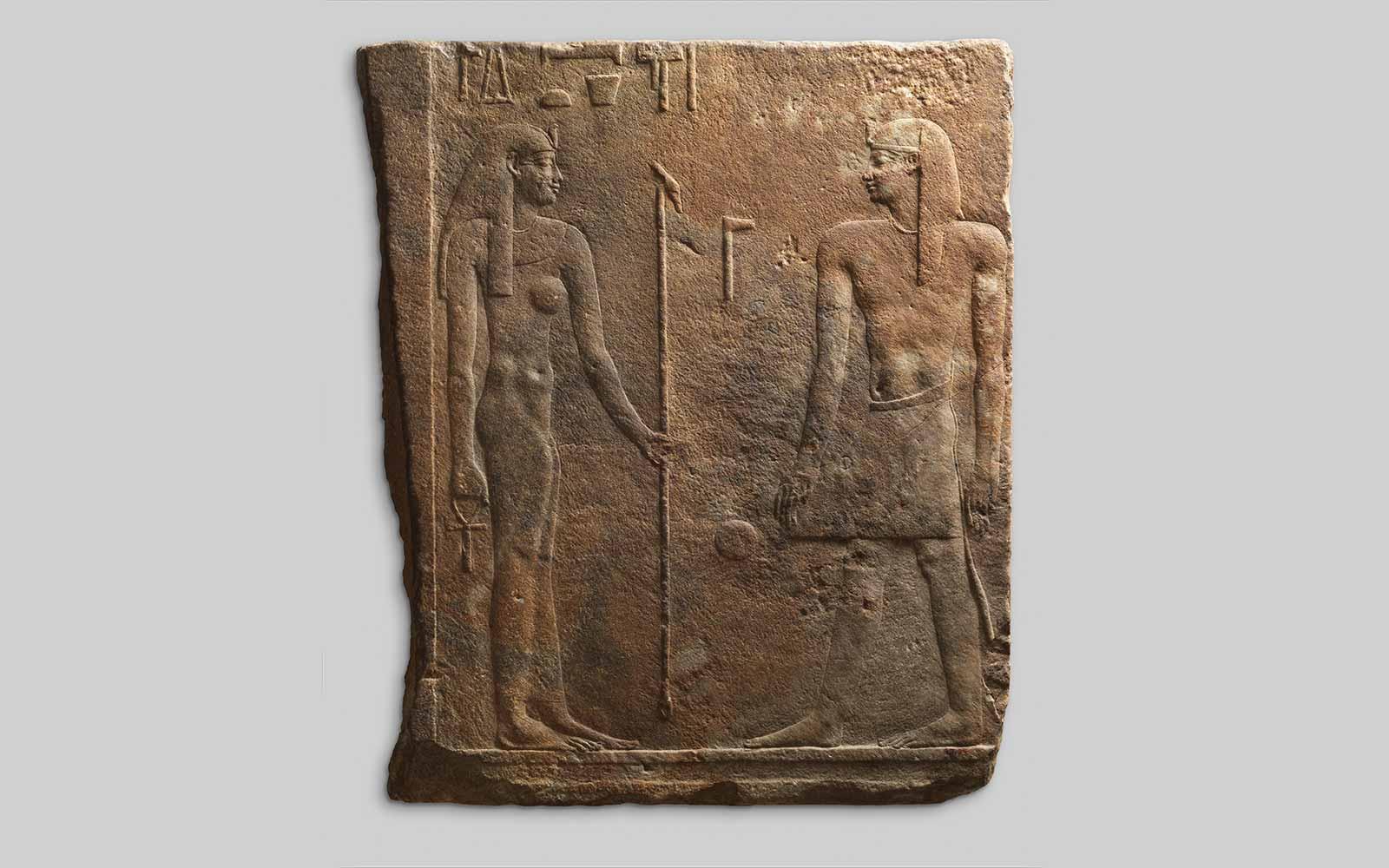 Thutmose III and Hathor