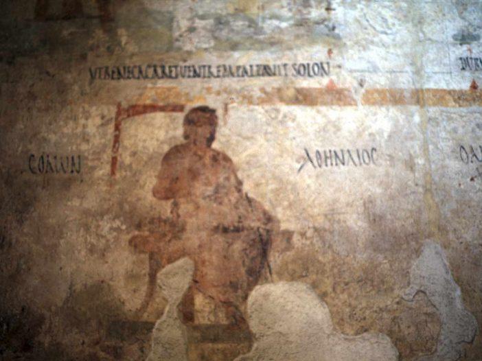 Fresco of Solon