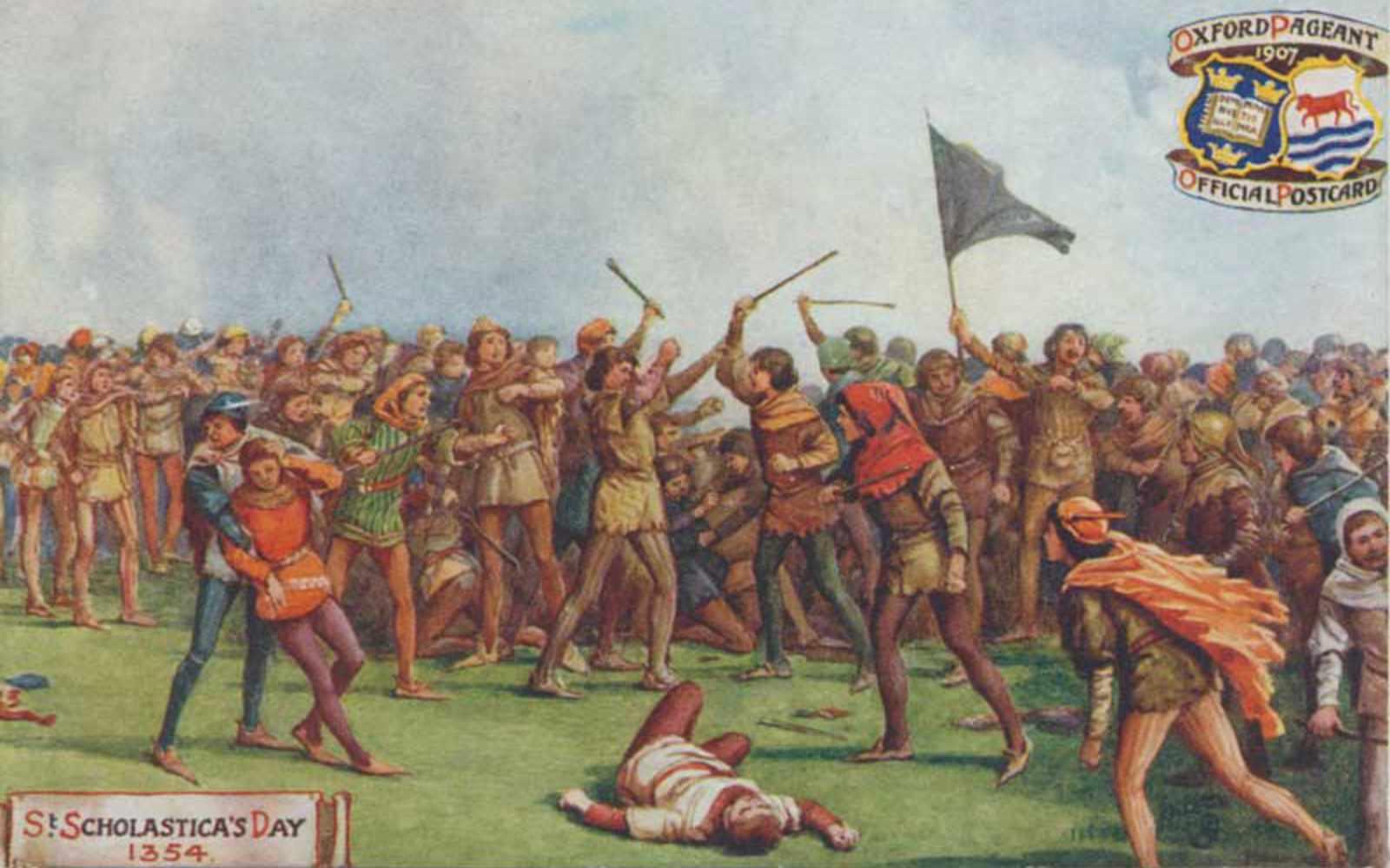 St. Scholastica's Day Riot
