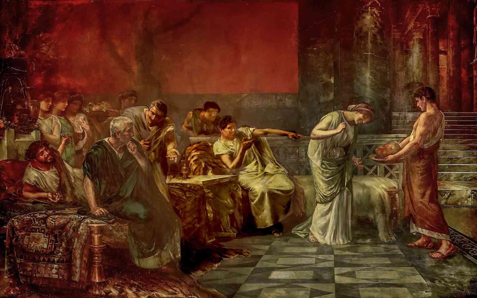 Fulvia and Cicero's Head